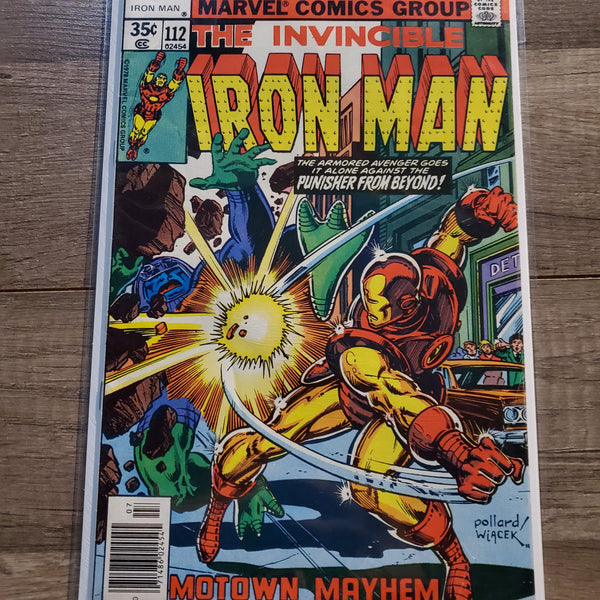 The Invincible Iron Man #112
