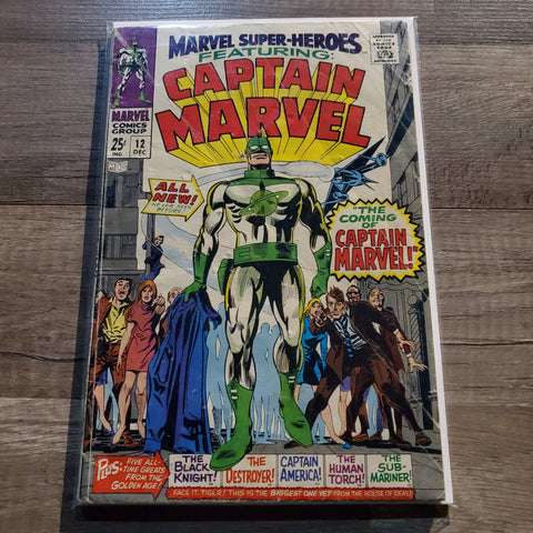 Marvel Super Heroes #12 Captain Marvel