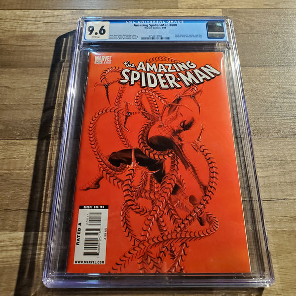 The Amazing Spider-Man #600 CGC