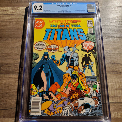 The New Teen Titans #2 CGC