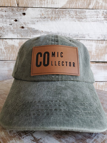 Comic Collector Dad Hat