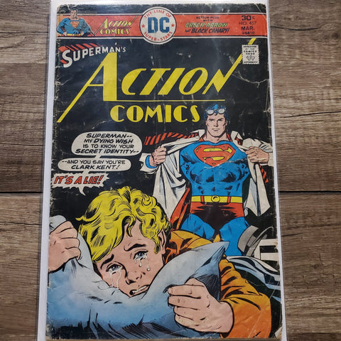 Action Comics Superman #457