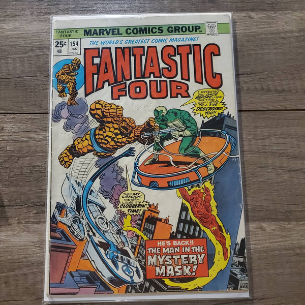 The Fantastic Four #154