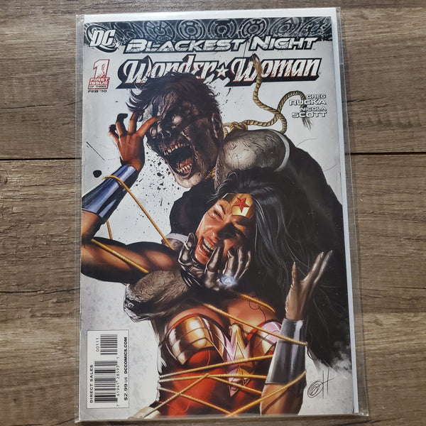 Wonder Woman #1 Blackest Night