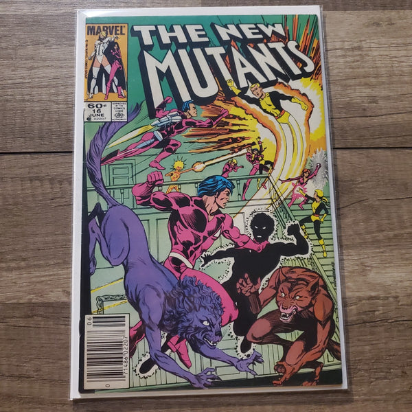 The New Mutants #16