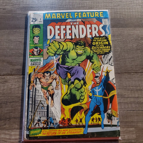 Marvel Feature #1 The Defenders