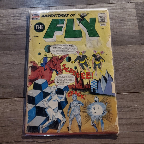 The Adventures of the Fly #16