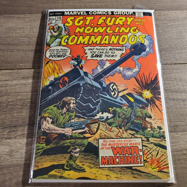 Sgt. Fury and his Howling Commandos #118