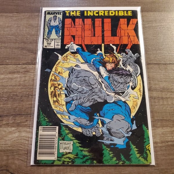 The Incredible Hulk #344