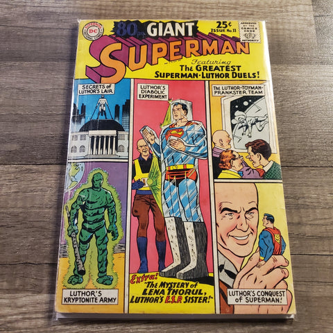 80 PG Giant #11 Superman