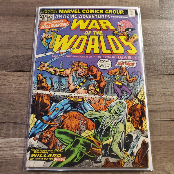 Amazing Adventures #23 War of The Worlds #23