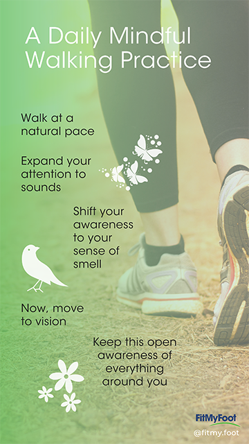 Daily Mindful Walking Practice