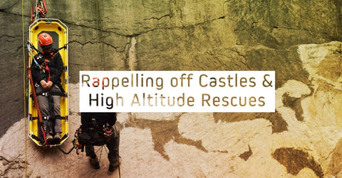 Rappelling off Castles & High Altitude Rescues – Powered by Wiivv