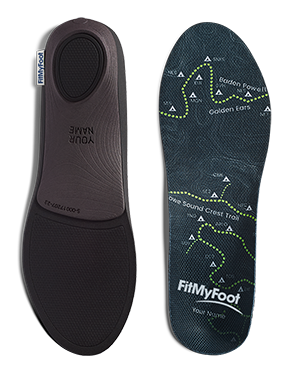 trail map design FitMyFoot custom insoles