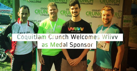 Coquitlam Crunch Welcomes Wiivv as Medal Sponsor