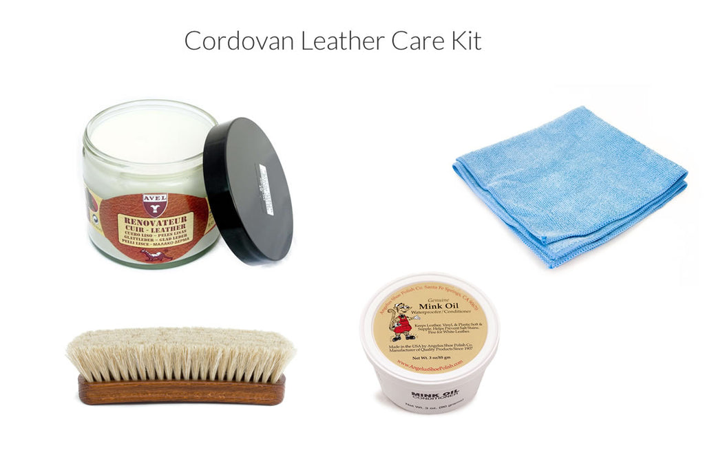 cordovan shoe care kit