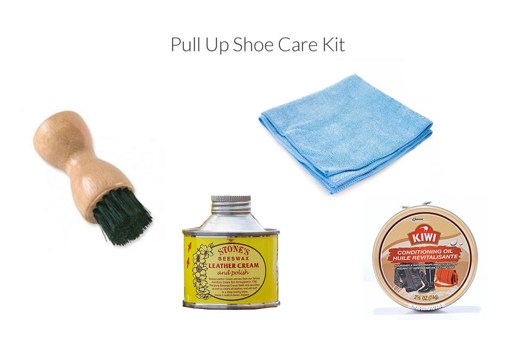 pull up shoe care kit