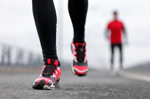 running with proper foot care