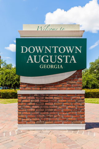 Welcome To Downtown Augusta Georgia