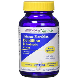 Advanced Naturals Ultimate Floramax 150 Billion Caps, 30 Count by Advanced Naturals