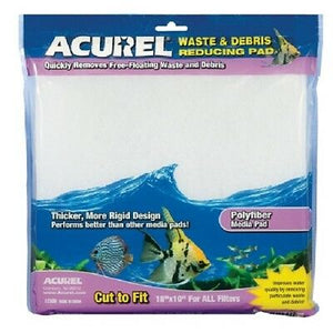 Acurel Infused Media Pads for Aquariums and Ponds, 10-Inch by Acurel