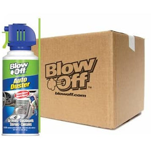 Blow Off AD-001-056-12PK Auto Air Duster - 3.5 oz., (Pack of 12)*