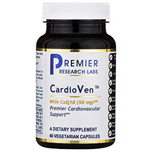 Premier Cardioven 240 VCaps 4 bottles By Premier Research Quantum Labs