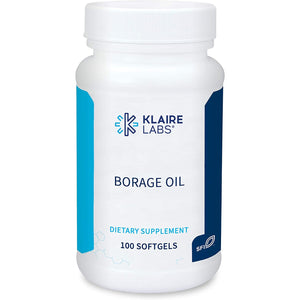 Klaire Labs Borage Oil - (100 Softgels)