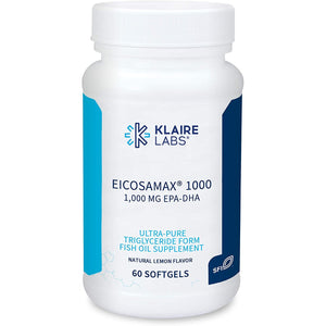 Klaire Labs Eicosamax 1000 - (60 Softgels)