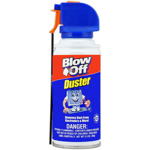 Blow Off (MB-111-229-12PK) Air Duster - 3.5 oz., (Pack of 12)*