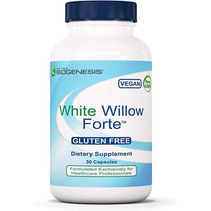 Nutra BioGenesis - White Willow Forte - White Willow Bark, Boswellia and Turmeric to Help Support Body Comfort and Cytokine Balance - Gluten Free, Vegan, Non-GMO - 30 Capsules*