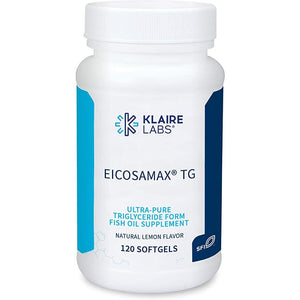 Klaire Labs Eicosamax TG Fish Oil - (120 Softgels)