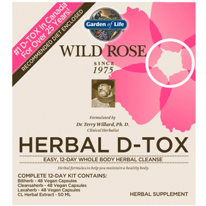 Wild Rose Herbal D-Tox Kit (12 Day by Garden Of Life