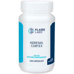 Adrenal Cortex 120 Capsules by Klaire Labs - The Oasis of Health