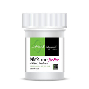 DaVinci Labs Mega Probiotic For Her  30 Capsules