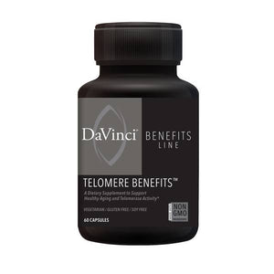 TELOMERE BENEFITS™ (60) by DaVinci Labs