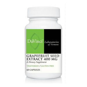 DaVinci Labs  Grapefruit Seed Extract 400 mg  60 Capsules