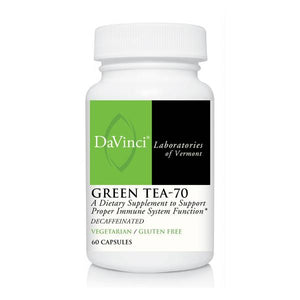 DaVinci labs  Green Tea-70  60 Capsules