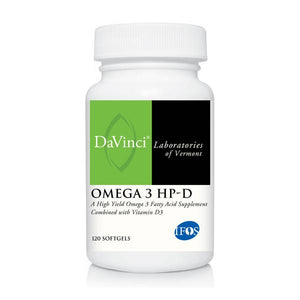 OMEGA 3 HP-D (120) by DaVinci Labs