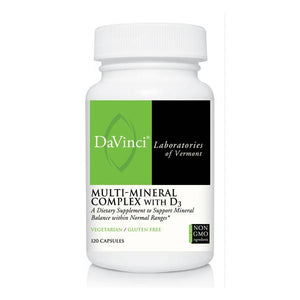 DaVinci Labs  Multi-Mineral Complex with D3  120 Capsules