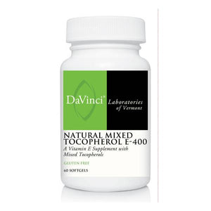 NATURAL MIXED TOCOPHEROL E-400 (60) by DaVinci Labs