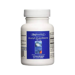 Allergy Research Group ACETYL-GLUTATHIONE, 100 mg 60 tabs by Allergy Research Group