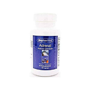 Adrenal Natural Glandular 100 Milligrams 150 Veg Capsules by Allergy Research Group