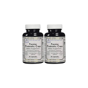 Premier/Quantum Probiotic Caps 150 Softgel/3 bottles Full Spectrum Gastrointestinal Health Research Labs by Premier Research Labs
