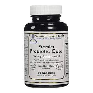 Premier/Quantum Probiotic Caps 180 Softgel/3 bottles Full Spectrum Gastrointestinal Health Research Labs by Premier Research Labs