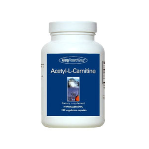 Allergy Research Group Acetyl-L-Carnitine 500mg 100 Vegetarian Capsules by Allergy Research Group