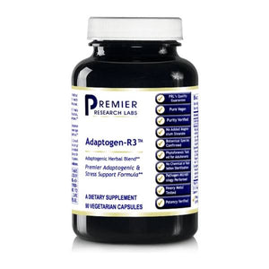 Premier Research Labs Adaptogen-R3 Stress Support Formula 90 VCaps BY  premier research labs