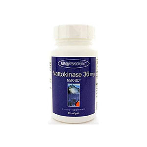 Allergy Research Group Nattokinase - 36 mg - 90 Softgels by Allergy Research Group