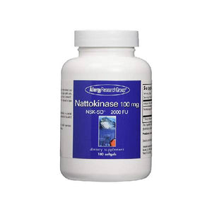 Allergy Research Group Nattokinase -- 100 mg - 180 Softgels by Allergy Research Group