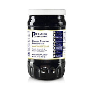 Premier Creatine Monohydrate (2 Bottles) by Premier Or Quantum Research Labs